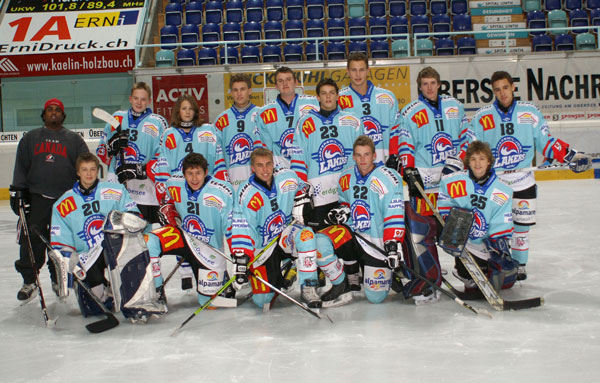 Rapperswil-Jona Lakers Novizen 2007_2008